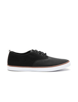 Call It Spring Men Black Solid Sneakers by Call It Spring