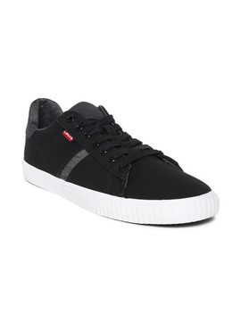 Levis Men Black Picasso Sneakers by Levis