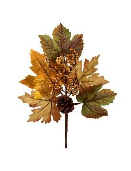 Green Pinecone & Berry Foliage Pick By Ashland® by Ashland