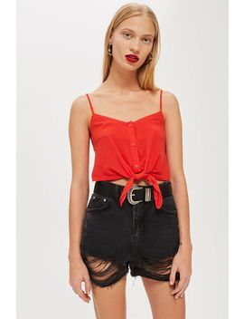 Tall Knot Front Camisole Top by Topshop