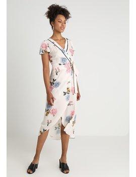 Floral Wrap Midi Dress   Długa Sukienka   Multi by Miss Selfridge