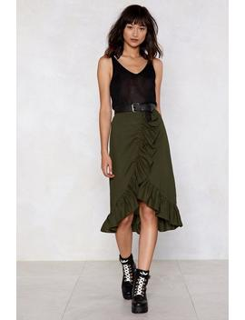 Layer It On Me Ruffle Skirt by Nasty Gal