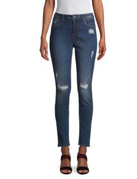 Distressed Skinny Jeans by Miss Me