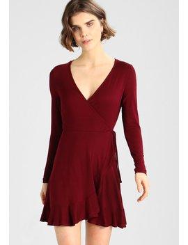 Plain Lace Trim Skater   Sukienka Z Dżerseju by New Look