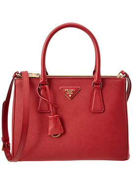 Prada Small Galleria Saffiano Leather Tote by Prada