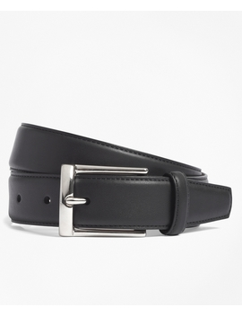 Calfskin Dress Belt by Brooks Brothers