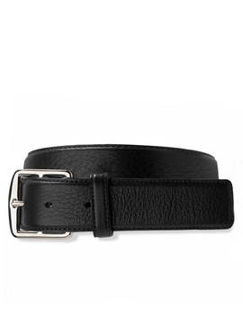 deerskin-leather-belt by brooks-brothers