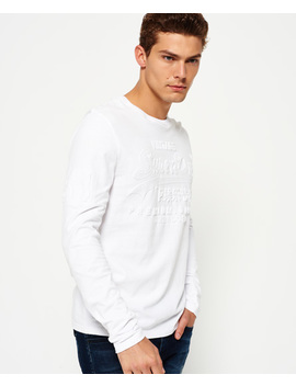 Premium Goods Embossed T Shirt by Superdry