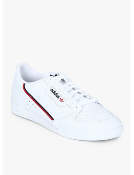 Continental 80 White Sneakers by Adidas Originals