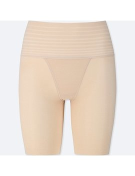 Women Body Silhouette Shaper Non Lined Half Shorts by Uniqlo