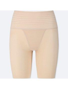 Women Body Silhouette Shaper Non Lined Half Shorts by Uniqlo