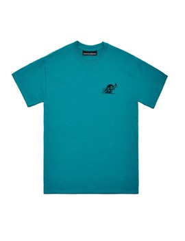 Nine One Seven Manhattan Car Wash T Shirt (Teal) by Dover Street Market
