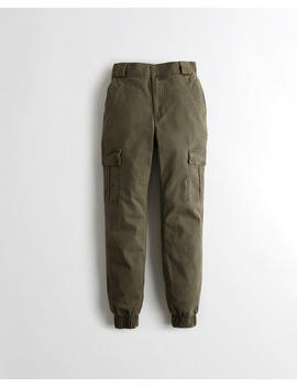 High Rise Twill Jogginghose Mit Classic Stretch by Hollister