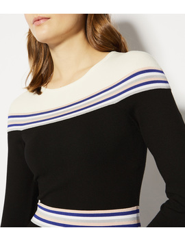 Striped Knitted Midi Dress by Kc004 Fb191 Kc102 Kc036 Kc003 Kc039 Kc097 Kb080 Kb054 Pb007