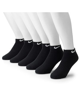 Men's Nike 6 Pk. Low Cut Performance Socks by Kohl's