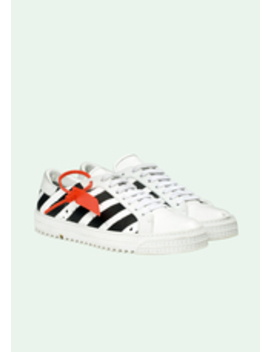 White Diagonals Sneakers by Off White
