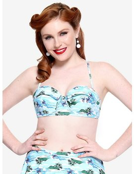 Disney Lilo &Amp; Stitch Retro Swim Top by Hot Topic