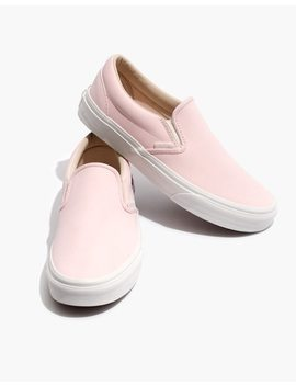 Vans® Unisex Vansbuck Classic Slip On Sneakers In Pink by Madewell