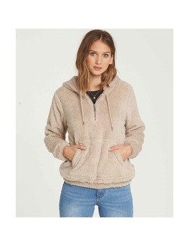 Cozy For Keeps Fleece Hoodie by Billabong