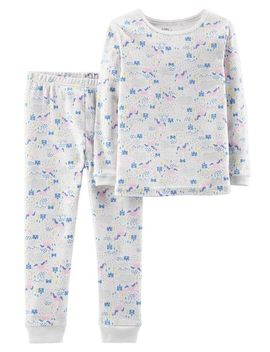 2 Piece Certified Organic Snug Fit Cotton P Js by Carter's