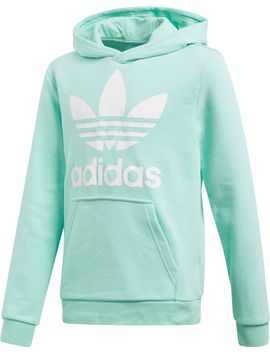 Adidas Originals Girls' Trefoil Hoodie by Adidas