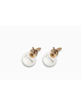 「Dior Tribales」鍍金復古金屬耳環 by Dior