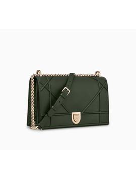 Diorama綠色頂級小牛皮包款 by Dior