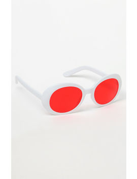 Buggy Red Lens Sunglasses by Pac Sun