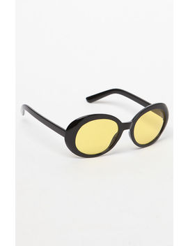 Buggy Yellow Lens Sunglasses by Pac Sun