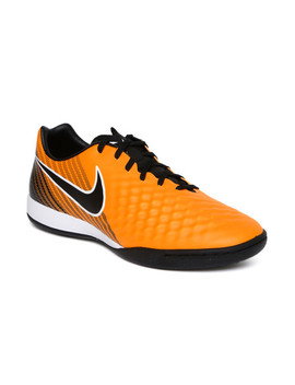 Nike Men Orange Magistax Onda Ii Ic Football Shoes by Nike