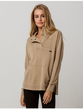 Rvca Racked Snap Womens Hoodie by Rvca