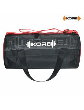 Kore Ace 3.0 Gym Bag With Carry Handels (Red/Black) by Kore