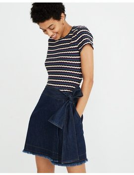 Madewell X Karen Walker® Denim Killick Skirt by Madewell
