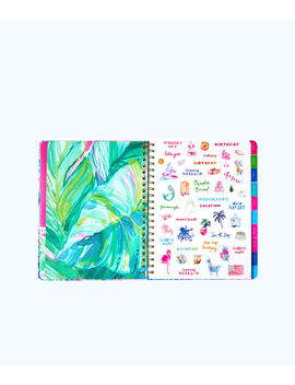 2018 2019 17 Month Jumbo Agenda by Lilly Pulitzer