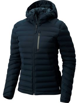 Mountain Hardwear Women's Stretch Down Hooded Jacket by Mountain Hardwear