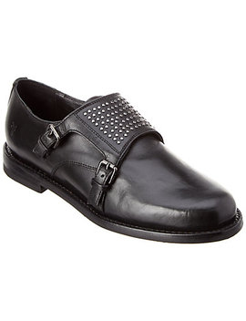 Frye Charlotte Monk Leather Oxford by Frye
