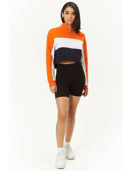 Fleece Colorblock Top by Forever 21
