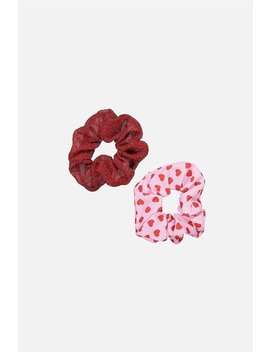 2 Pk Scrunchies by Cotton On