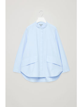 Voluminous Shirt With Pockets by Cos