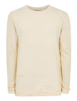 Selected Homme Beige Long Sleeve T Shirt by Topman