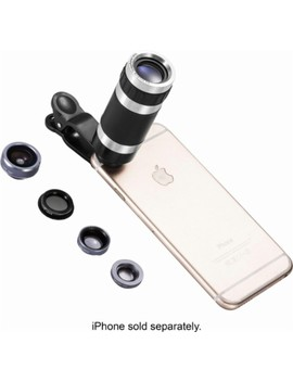 Mobile 5 In 1 Photo Lens Set   Gray by Poser Snap Pro