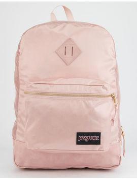 Jansport Super Fx Rose Smoke & Gold Backpack by Jansport