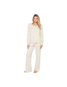 Barefoot Dreams Cozy Chic Ultra Lite Slouchy Pul Lover by Qvc