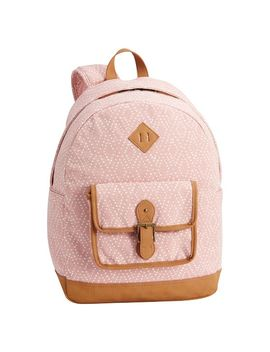Northfield Soft Rose Diamond Backpack by P Bteen