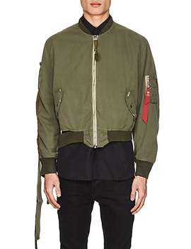 Ma 1 Cotton Flight Jacket by 424x Alph Ax Slamjam
