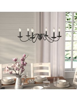 Gracie Oaks Farell 6 Light Chandelier & Reviews by Gracie Oaks