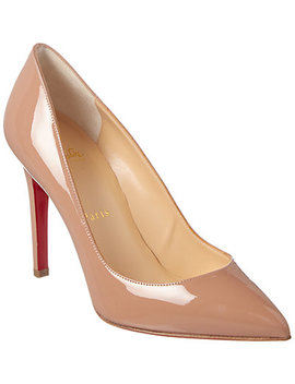 Christian Louboutin Pigalle 100 Patent Pump by Christian Louboutin