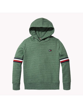 Signature Sleeve Hoody by Tommy Hilfiger