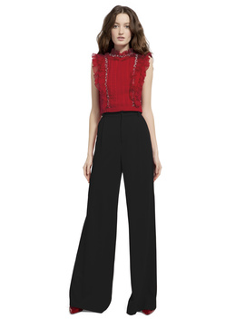 Eric High Waist Pant by Alice And Olivia