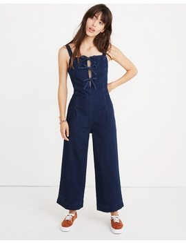 Denim Tie Front Jumpsuit by Madewell